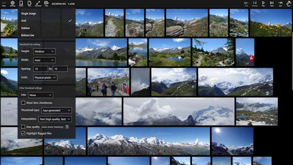 Pictureflect Photo Viewer: Free or Pro image viewing app for